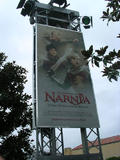 Photo : Affiches de promotionnelles de Narnia à Disneyland