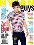 Photo : Zac Efron fait la Une du magazine Nylon Guys