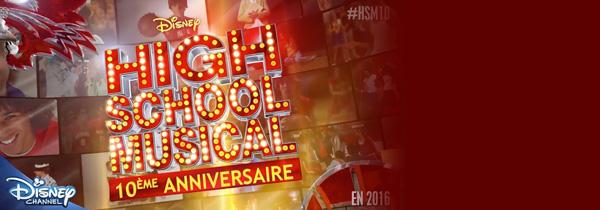 Disney Channel France célèbrera les 10 ans de HSM !