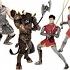 Les figurines de Narnia