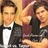 Taylor Lautner contre Robert Pattinson : Round 1 !