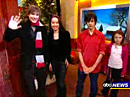 ABC News interview des enfants stars de Narnia
