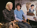 Interview de Tilda Swinton et Skandar Keynes