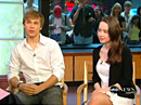 William Moseley et Anna Popplewell @ Good Morning America