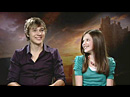 "Interview de William Moseley et Georgie Henley pour ""Prince Caspian"""