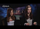 Anna Popplewell et Georgie Henley interviewes par BBC Switch