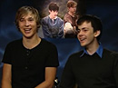 EMPIRE : Interview de Skandar Keynes et William Moseley