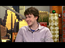 Interview de Skandar Keynes @ Pix Morning News